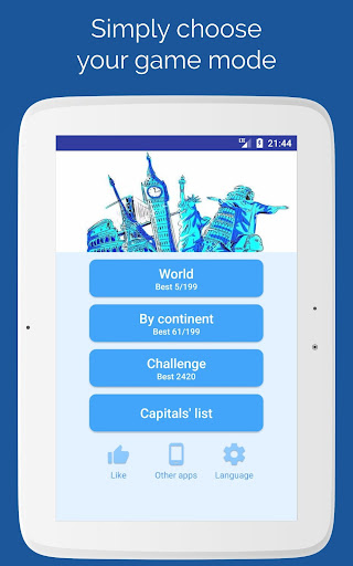 Capitals of the countries - Quiz  screenshots 12