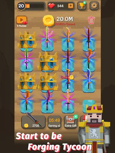 Merge Sword - Idle Blacksmith Master 1.4.4 screenshots 10