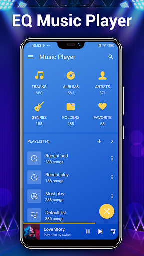 Music Player - 10 Bands Equalizer Audio Player 1.6.3 Screenshots 2