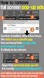 Goclean-Popup Ad detector,Hidden Apps detector APK 3