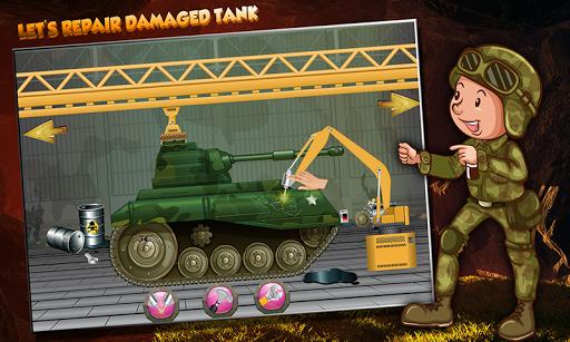 Army Tank Repair Simulator screenshots 2