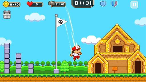 Super Jim Jump - pixel 3d 3.6.5026 screenshots 1