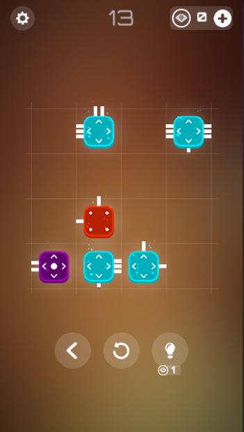 Combine it! - connected blocks of logic puzzle screenshot 3