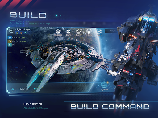 Nova Empire: Space Commander Battles in Galaxy War 2.1.8 Screenshots 1