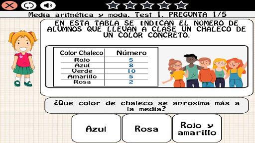 Matemu00e1ticas 10 au00f1os 1.0.24 screenshots 6