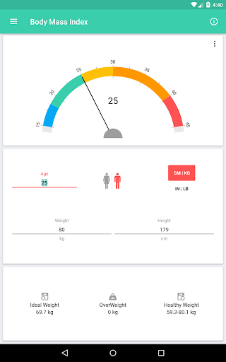 BMI and Weight Tracker 3.8.5 Screenshots 13