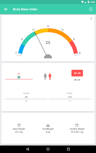 BMI and Weight Tracker