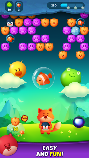 Bubble Shooter Pop Mania apktram screenshots 1