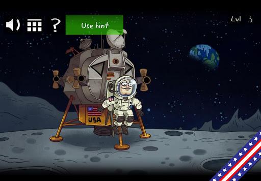 Troll Face Quest: USA Adventure Apkfinish screenshots 1