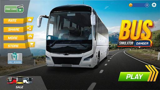 Bus Simulator : Dangerous Road screenshot 2