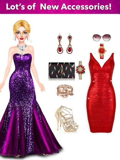 Model Fashion Red Carpet: Dress Up Game For Girls 0.4 screenshots 10