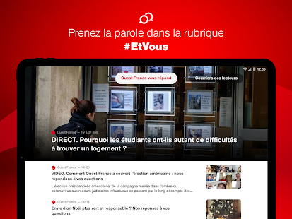 Ouest-France, lu2019actu de la commune au monde 4.6.1 Screenshots 12
