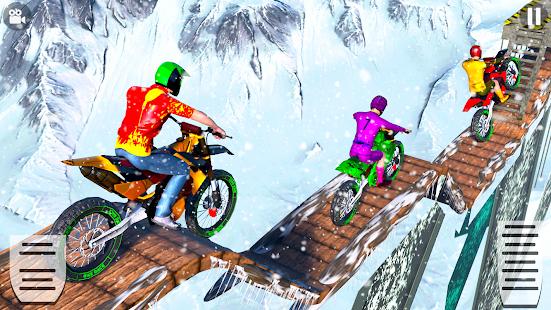 Snow Tricky Bike Impossible Track Stunts 2021 1.6 Screenshots 12