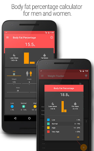 BMI and Weight Tracker 3.8.5 Screenshots 5