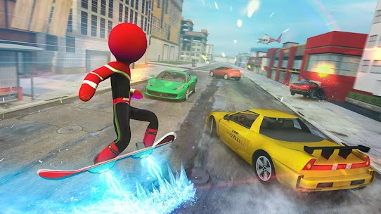 Stickman Ice Hero Crime City Mod Apk 1.6 (Ads Free) 5