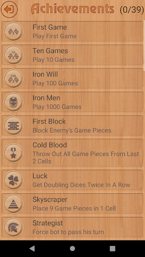 Backgammon  screenshots 2