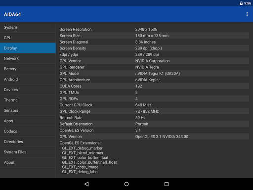 AIDA64 android2mod screenshots 19