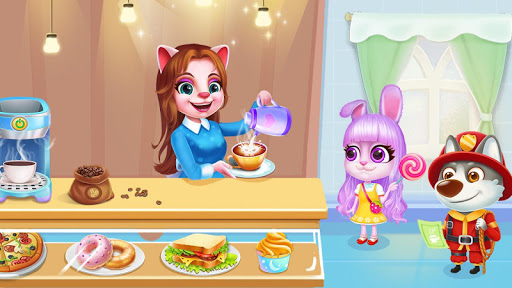 ud83dudc31Kitty Cafu00e9 - Make Yummy Coffeeu2615 & Snacksud83cudf6a 2.3.5038 screenshots 1
