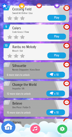 Piano Tiles Anime Songs Offline 2020のおすすめ画像4
