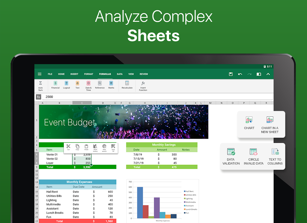 OfficeSuite - Word docs, Excel sheets, PDF & more  poster 8