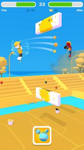 Pogo Paint: 1v1 Ball Throw Sports Game 1.0.21 screenshots 1