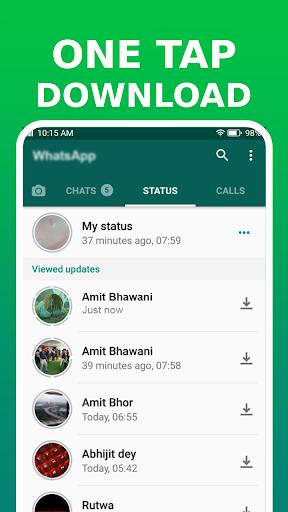 Status Saver for WhatsApp - Image Video Downloader 2.0.0 Screenshots 2