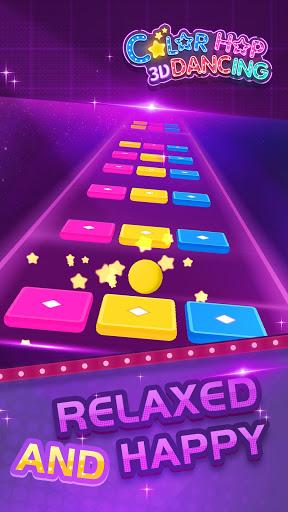 Color Dancing Hop - free music beat game 2021  screenshots 1