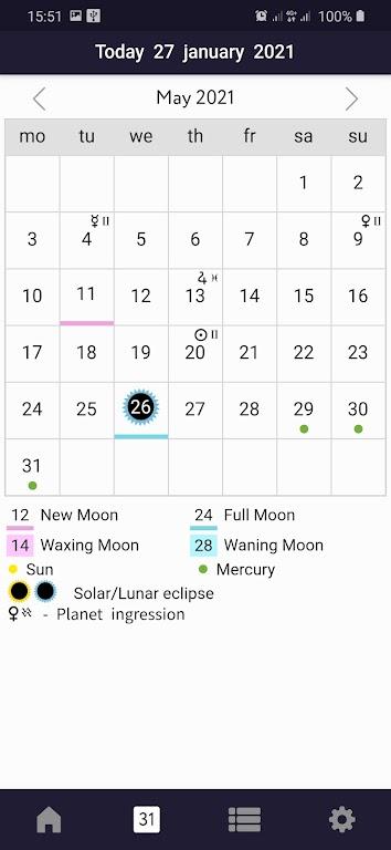Sky Calendar 2021 poster 4