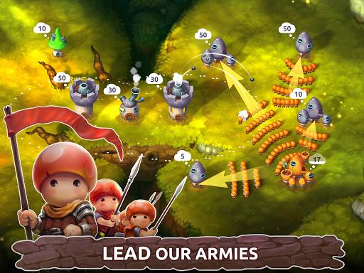 Mushroom Wars 2: Real-time war strategy ud83cudf44 Defense  screenshots 9