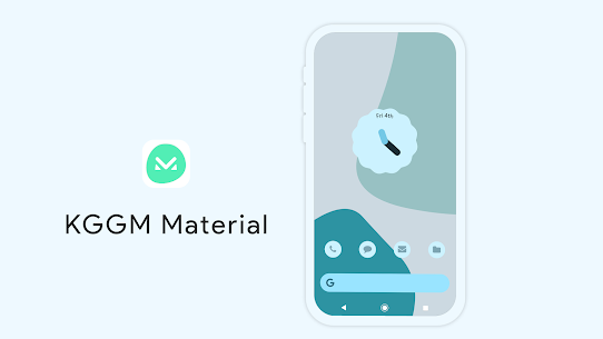 KGGM Material for KWGT Apk (Paid) for Android 8