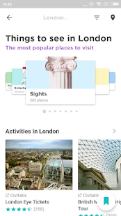 London Travel Guide in English with map