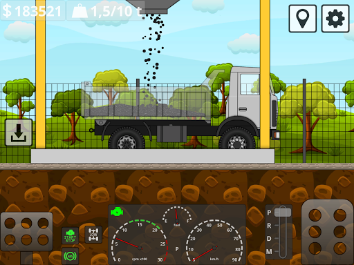 Mini Trucker - 2D offroad truck simulator modavailable screenshots 19
