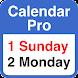 Calendar Pro V3