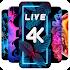 4K Wallpaper - 4D, Live Background, Auto changer
