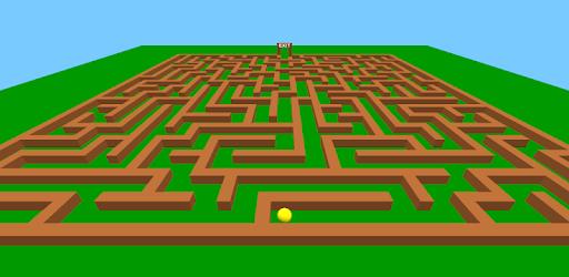Screenshot of Maze Game 3D
