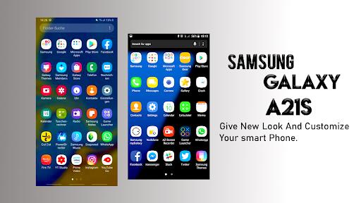 Samsung Galaxy A21s Launcher: Themes & Wallpapers screenshots 12