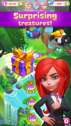 Charms of the Witch: Magic Mystery Match 3 Games  screenshots 4