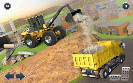Heavy Crane Excavator Construction Transport screenshots 5