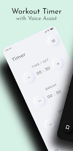 Workout Timer - Advanced Timer with Voice