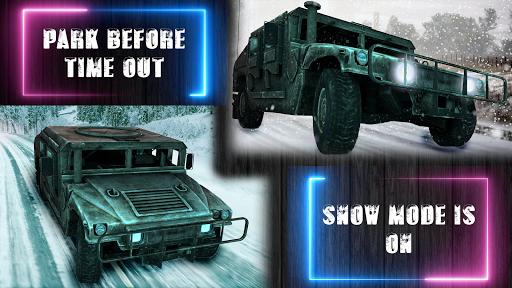 Off-road Jeep Drive-Winter Season Simulator 1.7 screenshots 1