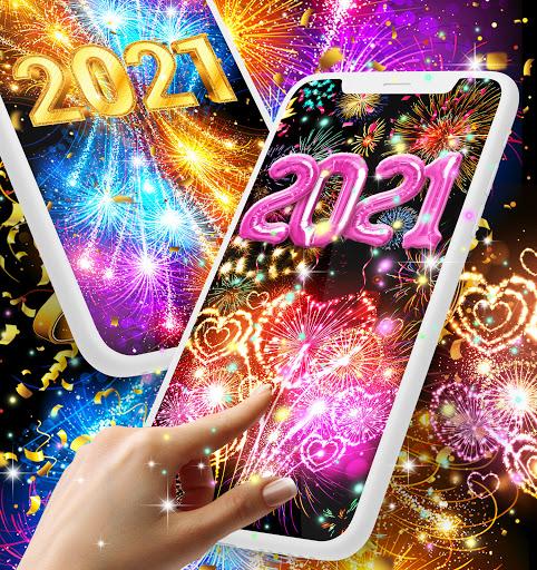 Happy new year 2021 live wallpaper 16.6 Screenshots 1