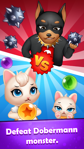 Bubble Shooter Cats POP : Puzzle Mania 1.1.3 screenshots 14