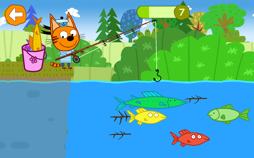 Kid-E-Cats: Picnic with Three Catsu30fbKitty Cat Games  screenshots 16
