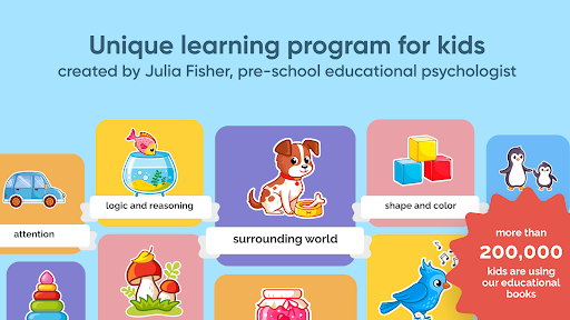 Brainy Kids: educational games for 2-3 year olds  screenshots 1