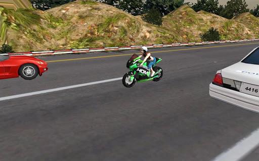 Racing Girl 3D Apkfinish screenshots 6