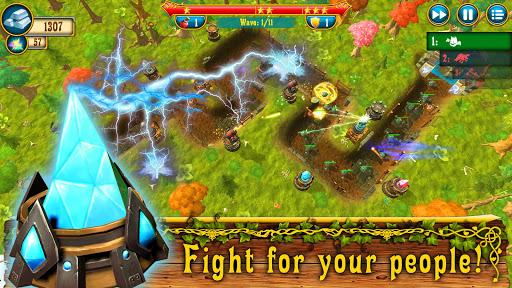Fantasy Realm TD. Offline Tower Defense Game  screenshots 14