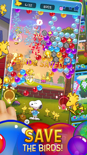 Bubble Shooter: Snoopy POP! - Bubble Pop Game 1.56.002 screenshots 2