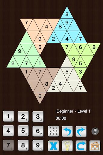 Star Sudoku six large triangle 1.1.11 screenshots 1