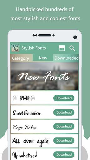 Stylish Fonts Free  Screenshots 2