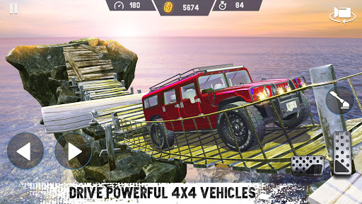 4x4 Car Drive 2021 : Offroad Car Driving SUV  screenshots 1